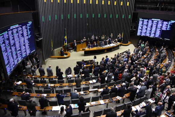 Plenário da Câmara dos Deputados - EBC