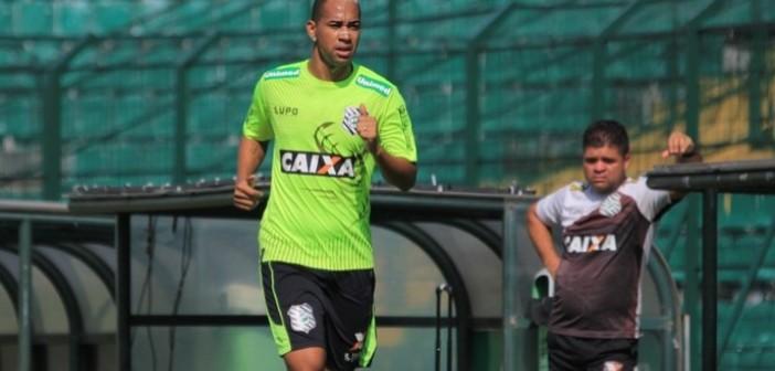 O atacante Thiago Santana é formado nas categorias de base do Internacional (RS) Foto: Assessoria