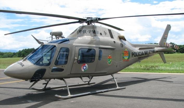 Será a quinta aeronave do Batalhão de Aviação da PM de Santa Catarina