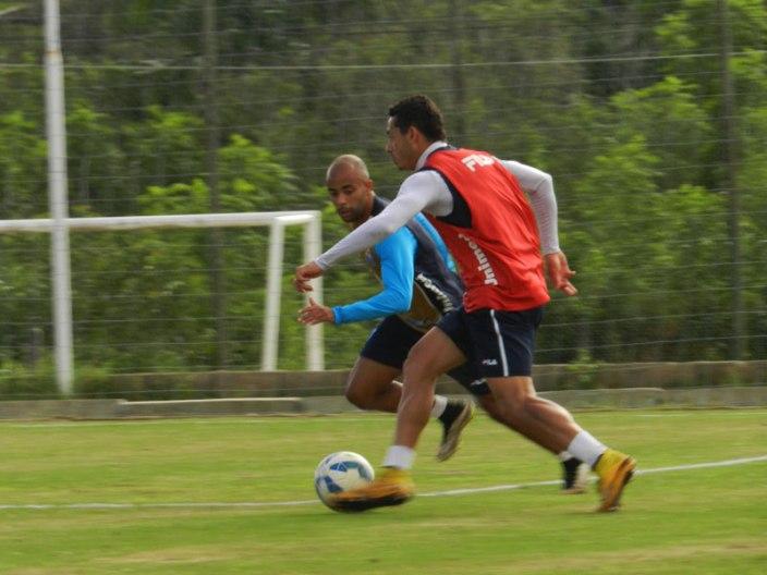 Avaí fez último treino nesta sexta-feira antes de embarcar para a capital do Paraná. (Foto: André Palma Ribeiro-Avaí F. C.)