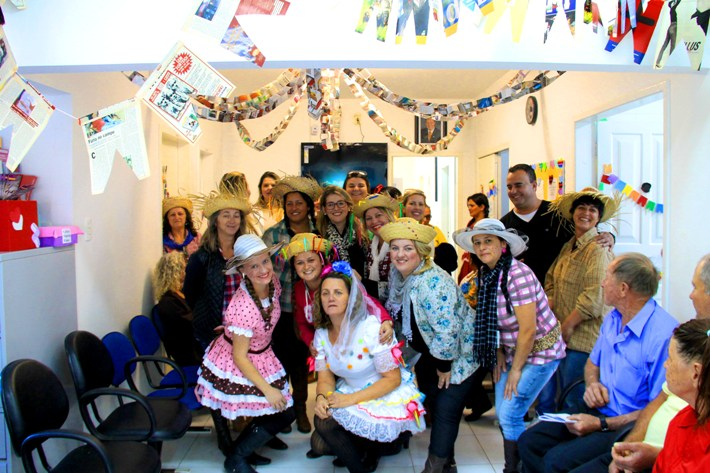 Biguaçu Funcionários-à-carater-na-Festa-Junina-Foto-Kleber-Damásio-SECOM