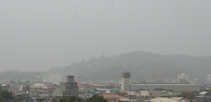 Biguaçu - tempo de chuva - BR-101 - (foto - Bigua News)