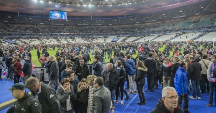 Atentado no Stade de France (GET Images)