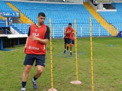 Avaí treinando - André Palma Ribeiro-Avaí F. C.