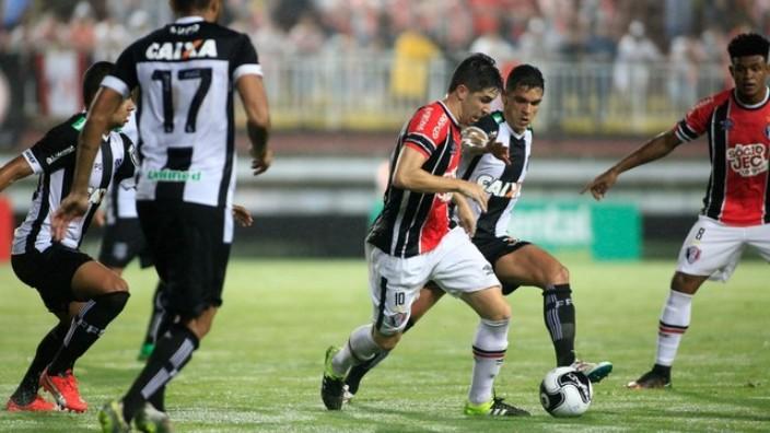 Joinville e Figueirense ficaram no empate (Foto: Assessoria)