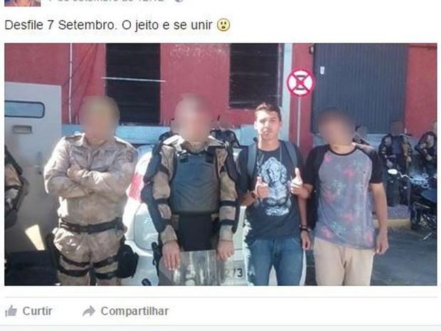 Post teria motivado execução de adolescente, disse testemunha à polícia (Foto: Reprodução/Facebook)