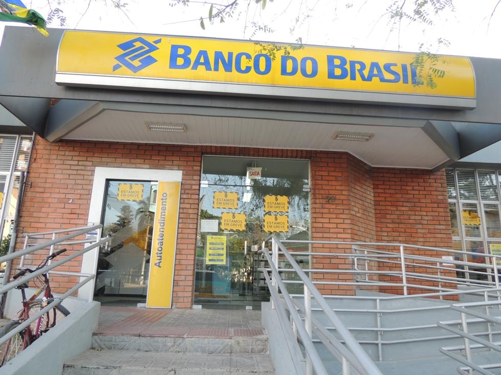 Agência do Banco do Brasil em Biguaçu está fechada há três semanas (Foto: Biguá News)