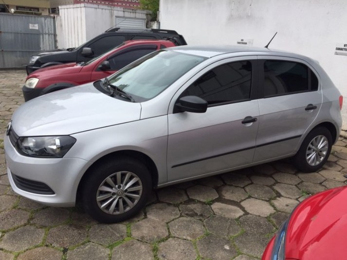 Carro da suspeita foi apreendido (Foto: Polícia Civil/Divulgação)