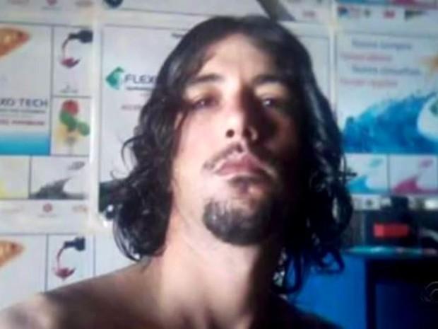 Cirilo desapareceu no mar na Grande Florianópolis no sábado (Foto: Reprodução/RBS TV)
