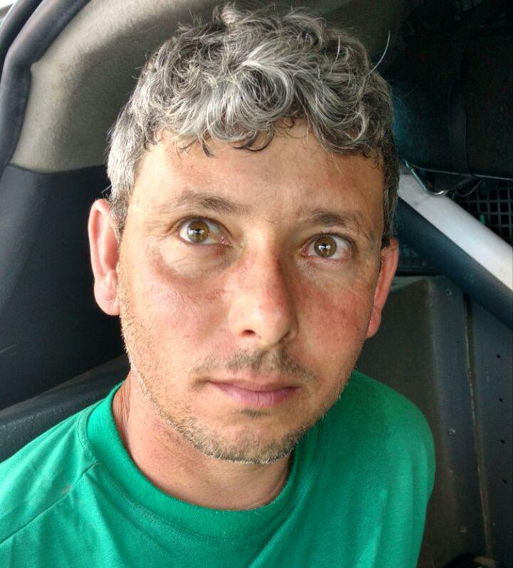 Homem matou outro no Paraná e se 'escondia' em Biguaçu (Foto: PM)