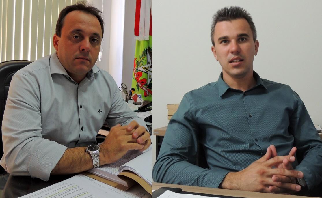 Juliano e Douglas 'debatem' cobrança por serviços de saúde (Imagem: Biguá News)