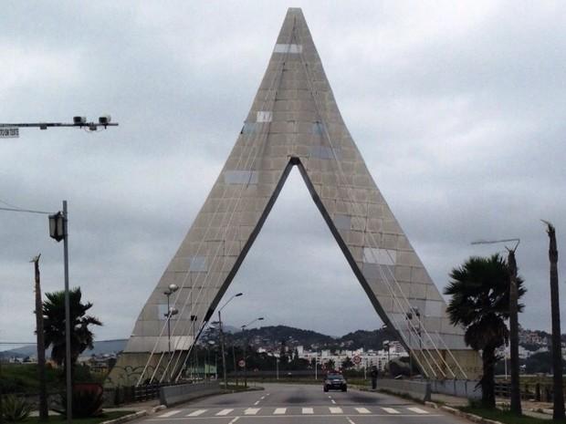 Pórtico de São José será desmontado a partir de terça-feira (Foto: Ronaldo Bruchado/RBS TV)