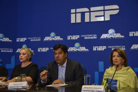 Governo pode discutir mudanças como aplicação da prova em um único dia (Marcello Casal Jr/Agência Brasil)